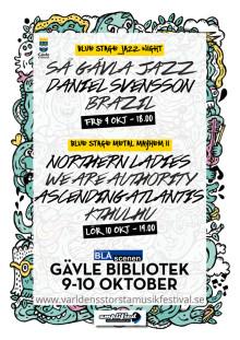 Världens Största Musikfestival på Gävle Bibliotek