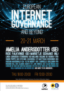 Välkommen till  konferensen European Internet Governance and Beyond