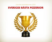 Sannegårdens pizzeria är Göteborgs bästa pizzeria 2014, 1:a i Sverige
