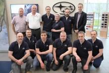Nordens skickligaste Subaru-mekaniker gjorde upp i Malmö
