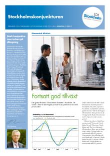 Stockholmskonjunkturen kvartal 2 2011