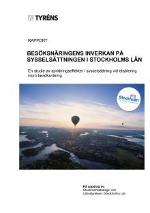 Besöksnäringens inverkan på sysselsättningen i Stockholms län