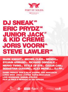 DJ LINEUP 2012
