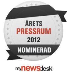 Rebtel Nominerade till Årets Pressrum 2012