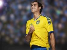 Fotbollslandslagets nya tröja är här - adidas och SvFF visar de första bilderna på den nya matchtröjan