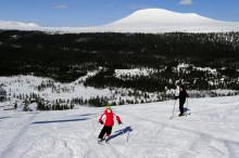 Premiär för alpin skidåkning på Idre Fjäll