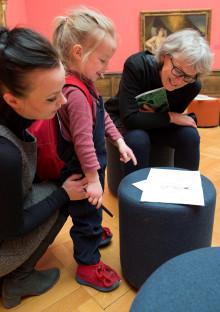 Nytt tilbud for barnefamilier på Nasjonalmuseet