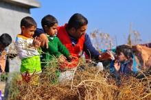 Enorma hjälpbehov för syrier och syriska flyktingar