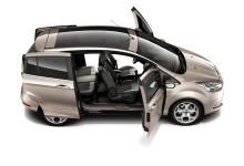 Uuden Ford B-MAXin diesel- ja bensiinimalleissa luokkansa alhaisin polttoaineen kulutus ja matalimmat CO2-päästöt