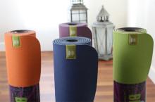 Miljövänliga yogamattor i fina färger
