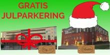 Gratis julparkering i parkeringshusen City-P och Balder