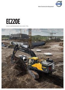 Volvo EC220E - broschyr med specifikationer