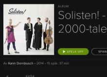 Spotify-premiär för Solisten! Klassisk musik för 2000-talets barn