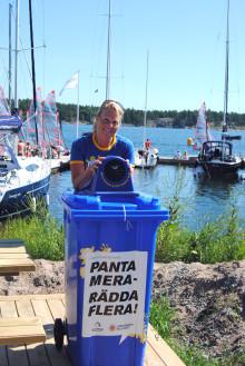 Pant räddar liv till sjöss – Returpack och Sjöräddningssällskapet i samarbete