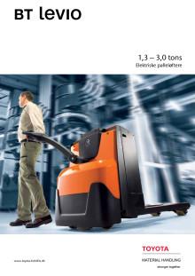 Brochure: Elektriske palleløftere 1,3 – 3,0 tons