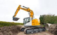 Högre produktivitet med nya Liebherr R926 Compact