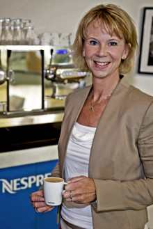 Eva Helmersen blir ny VD på Nespresso Business Solutions