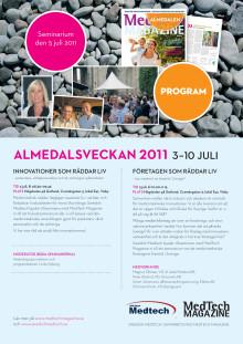 Innovationer som räddar liv - medtech i Almedalen 2011