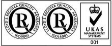 Askalon AB kvalitet och miljö certifierat enligt ISO 9001 och ISO 14001