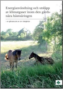 Premiär för gemensam klimatpolicy för hästnäringen