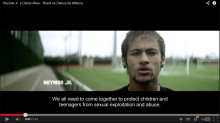 Childhood lanserar kampanj mot sexuella övergrepp mot barn under VM i Brasilien