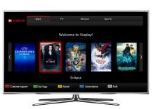 Viaplay i Samsungs smart TV-apparater