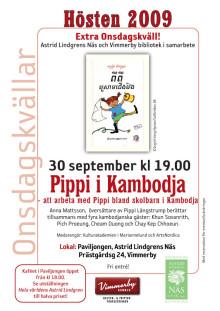 Onsdagskväll om Pippi i Kambodja