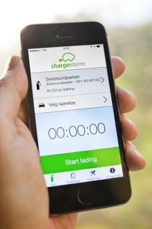 Chargestorm lanserar betallösning för elfordonsladdning
