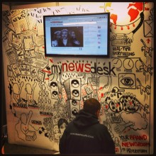 How we used graffiti to tell our story at the Digital Marketing Show