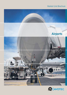 Product brochure: Cavotec ground support equipment for airports