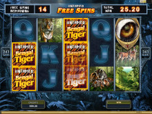 Untamed Bengal Tiger Slot is now launched!