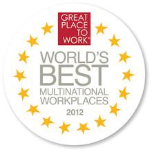 Världens Bästa Multinationella Arbetsplatser 2012 utsedda