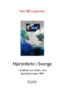 Hjärtinfarkt i Sverige