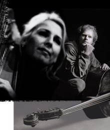 Metamorfoser – sång, harpa och kontrabas med Margareta Bengtson och Anders Jormin