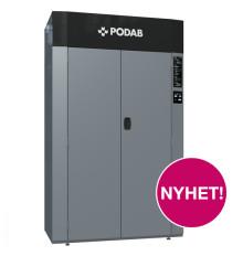 PODAB:s torkskåp med värmepumpsteknik på Fastighetsmässan i Göteborg 4-5 september