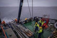 Stor polarforskningsexpedition går iland