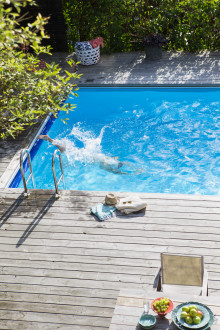 Spara energi, bada i rent vatten – och njut av tystnaden!