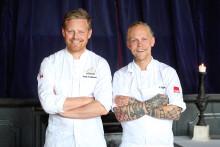 Clarion Hotel Posts konditor Fredrik Borgskog skapar tårtan till det kungliga bröllopet!