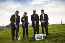 Byggeriet af Arlas globale innovationscenter er i gang
