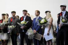 Pressinbjudan: Stipendieregn över Högskolans studenter