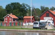 Utbyggnad av Skeppsdockans Camping vid  Göta kanal i Söderköping