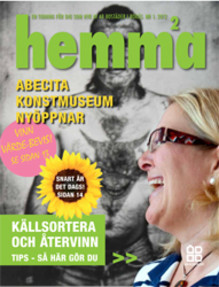 Nytt nummer av AB Bostäder i Borås hyresgästtidning HEMMA!