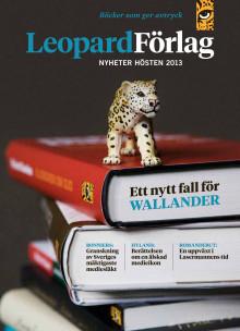Leopard förlag höstkatalog 2013