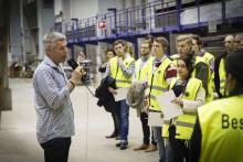 Ingenjörsstudenter nosar på livet efter Karlstads universitet