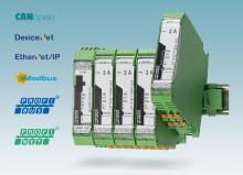 Network-capable hybrid motor starters