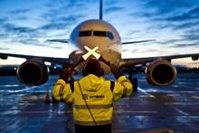Fler flygresenärer under årets första månad