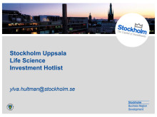 Stockholm-Uppsala Life Science Investment Hotlist