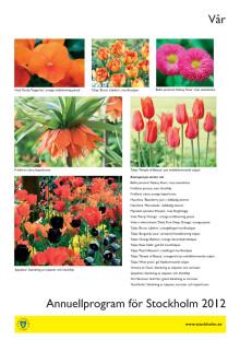Pdf bilder blomsterprogram vår 2012