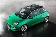 Nya Opel ADAM-modeller med Swing Top