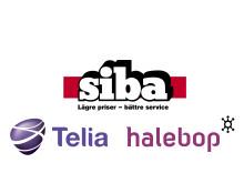 SIBA ingår samarbete med Telia och Halebop